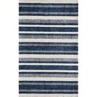 Clevenger Hand-Tufted Navy/Ivory Area Rug Rug Size: Rectangle 3'3