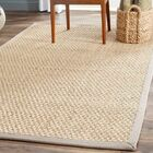 Richmond Natural/Brown Area Rug Rug Size: Rectangle 8' x 10'