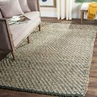 Richmond Hand-Woven Blue/Natural Indoor Area Rug Rug Size: Rectangle 9' x 12'