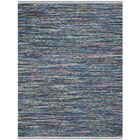 Eastport Hand Woven Cotton Blue Area Rug Rug Size: Rectangle 5' x 8'