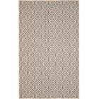 Allegra Hand-Woven Trellis Area Rug Rug Size: Rectangle 5' x 8'