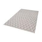 Maryam Hand-Loomed Fog/Cream Area Rug Rug Size: Rectangle 3' x 5'
