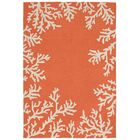 Claycomb Hand-Tufted Orange Indoor/Outdoor Area Rug Rug Size: Rectangle 3'6