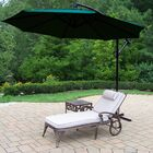 Thelma 3 Piece Aluminum Chaise Lounge Set with Cushions
