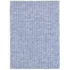 Rudel Hand Woven Cotton Grey Area Rug Rug Size: Rectangle 5' x 7'