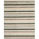 Brookvale Hand-Knotted Gray Area Rug Rug Size: Rectangle 8' x 10'