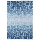 Claysburg Hand-Tufted Blue Oriental Indoor/Outdoor Area Rug Rug Size: Rectangle 7'6
