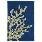 Claysburg Hand-Tufted Blue Indoor/Outdoor Area Rug Rug Size: Rectangle 3' x 5'