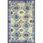 Tamins Handmade Blue Area Rug Rug Size: Rectangle 5' x 8'