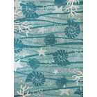 Coeymans Turquoise/White Indoor/Outdoor Area Rug Rug Size: Rectangle 2'2
