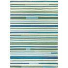 Coeymans Sea Breeze Stripes Indoor/Outdoor Area Rug Rug Size: 8' x 10'