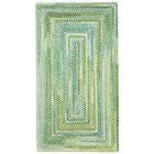 Celise Green/White Area Rug Rug Size: Rectangle 9'2