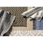 Kellar Hand-Woven Natural/Blue Area Rug Rug Size: Rectangle 6' x 9'