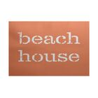 Cedarville Beach House Coral Indoor/Outdoor Area Rug Rug Size: 5' x 7'