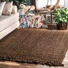 Elana Chunky Loop Chocolate Area Rug Rug Size: Rectangle 5' x 7'6