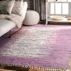 Grayling Turin Lavender Area Rug Rug Size: Rectangle 8' x 10'