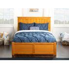 Graham Storage Platform Bed Color: Caramel Latte, Size: Full