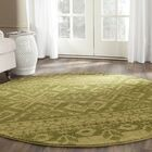 St. Ann Highlands Olive Green Area Rug Rug Size: Rectangle 9' x 12'