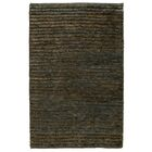 Marion Hand-Woven Ombry Blue/Brown Area Rug Rug Size: 5' x 8'