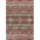 Condon Rust Indoor/Outdoor Area Rug Rug Size: 7'7