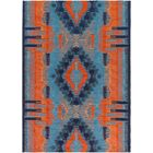 Blue Indoor/Outdoor Area Rug Rug Size: Runner 2'6