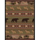 Alers Brown Area Rug Rug Size: 3'11'' x 5'3''
