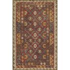Azure Red Rug Rug Size: Rectangle 8' x 11'