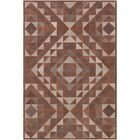 Milagros Hand-Crafted Camel/Brown Area Rug Rug Size: Rectangle 4' x 6'