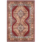 Isanotski Red/Rust Area Rug Rug Size: Rectangle 9' x 12'