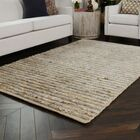 Marion Hand-Woven Natural Area Rug Rug Size: 5' x 8'