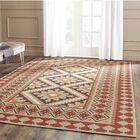 Rangely Red/Beige Indoor/Outdoor Area Rug Rug Size: Rectangle 5'3