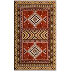 Herblain Orange Indoor Area Rug Rug Size: Rectangle 6'7