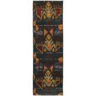 Honaz Tribal Grey/Blue Area Rug Rug Size: Runner 2'3