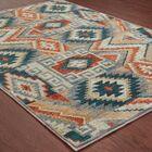 Honaz Blue Area Rug Rug Size: Rectangle 3'10