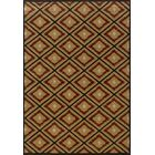 Johnson Village Gold/Red Area Rug Rug Size: Rectangle 5'3