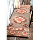 Claghorn Hand-Tufted Gray Area Rug Rug Size: Runner 2'6