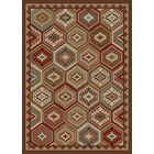 Durango Brown/Red Area Rug Rug Size: Rectangle 5' x 8'