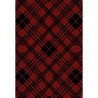 Windsor Lane Red Area Rug Rug Size: 5' x 8'