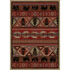 Chateaux Pine Red Area Rug Rug Size: 8' x 10'