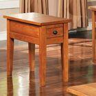 White Mountain End Table Color: Oak