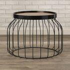 Behm Bird Cage End Table