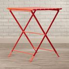 Scarlet End Table