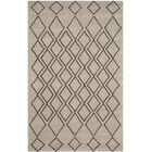 Cherico Hand-Tufted Light Gray/Dark Gray Area Rug Rug Size: Square 6'