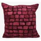 Dymalor Throw Pillow Color: Burgundy