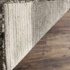 Lurdes Hand-Knotted Ivory/Gray Area Rug Rug Size: Rectangle 10' x 14'