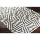 Armando Hand-Crafted Gray/Neutral Area Rug Rug Size: Rectangle 2' x 3'