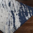 Danny Blue/Gray Area Rug Rug Size: Rectangle 5'3