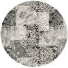 Lambert Area Cream/Gray Rug Rug Size: Round 6'