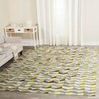 Cartwright Hand-Woven Ivory/Yellow Area Rug Rug Size: Rectangle 3' x 5'