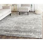 Lidiaídia Hand-Knotted Gray/Ivory Area Rug Rug Size: Rectangle 6' x 9'